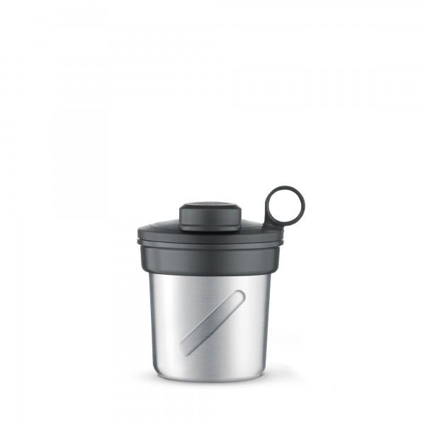 Mixbecher Edelstahl+ Deckel f. 41039