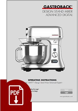 60977 - Design Stand Mixer Advanced Digital - IM