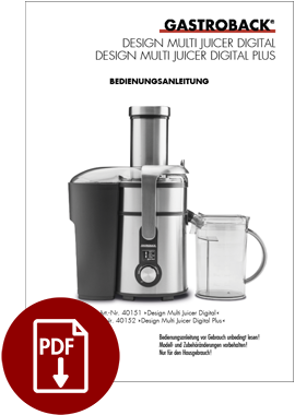 40151 - Design Multi Juicer Digital - BDA