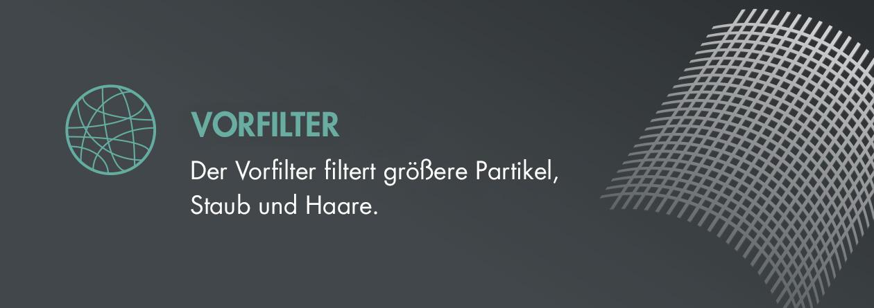 GASTROBACK® Luftreiniger AG+ AirProtect Portable - Vorfilter