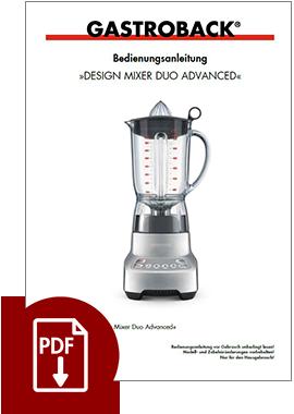 41004 - Design Mixer Duo Advanced - BDA