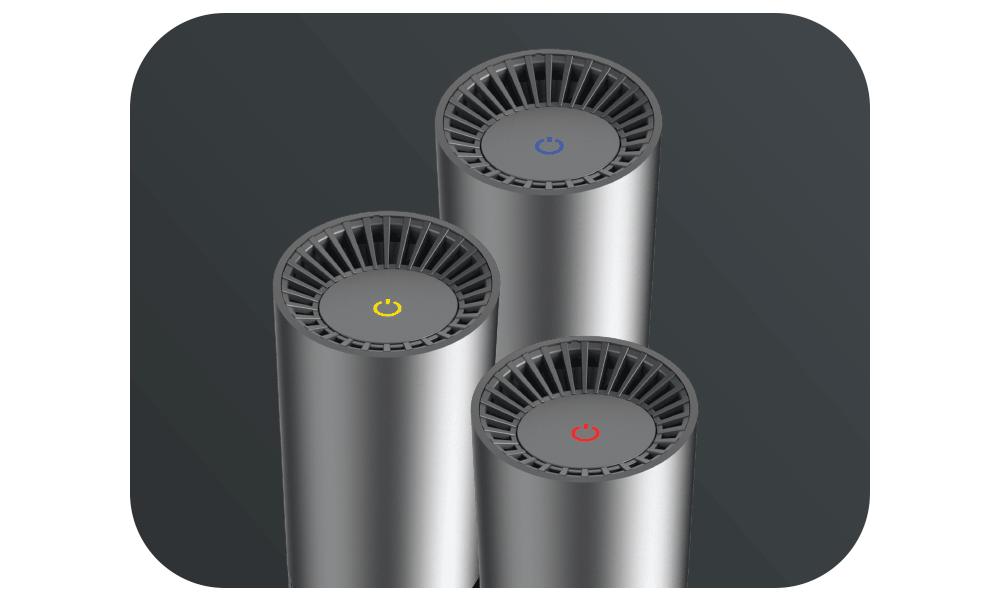 Luftreiniger AG+ AirProtect Portable - Lüftergeschwindigkeit in 3 Stufen regelbar