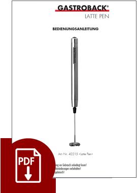 42215 - Latte Pen Milchaufschäumer - BDA