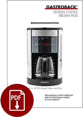 42703 - Design Coffee Aroma Plus - BDA