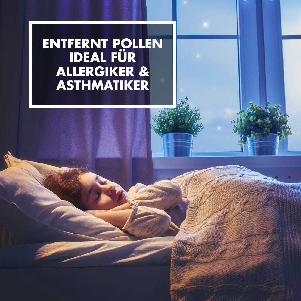 GASTROBACK® - Entfernt Pollen - Ideal für Allergiker & Astmatiker