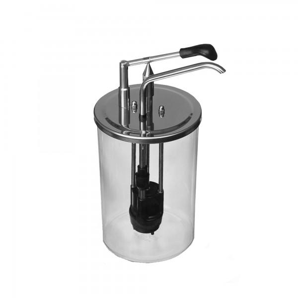 1.6 | CKDU-5,5 | komplett mit Acrylbehälter-Glasklar-