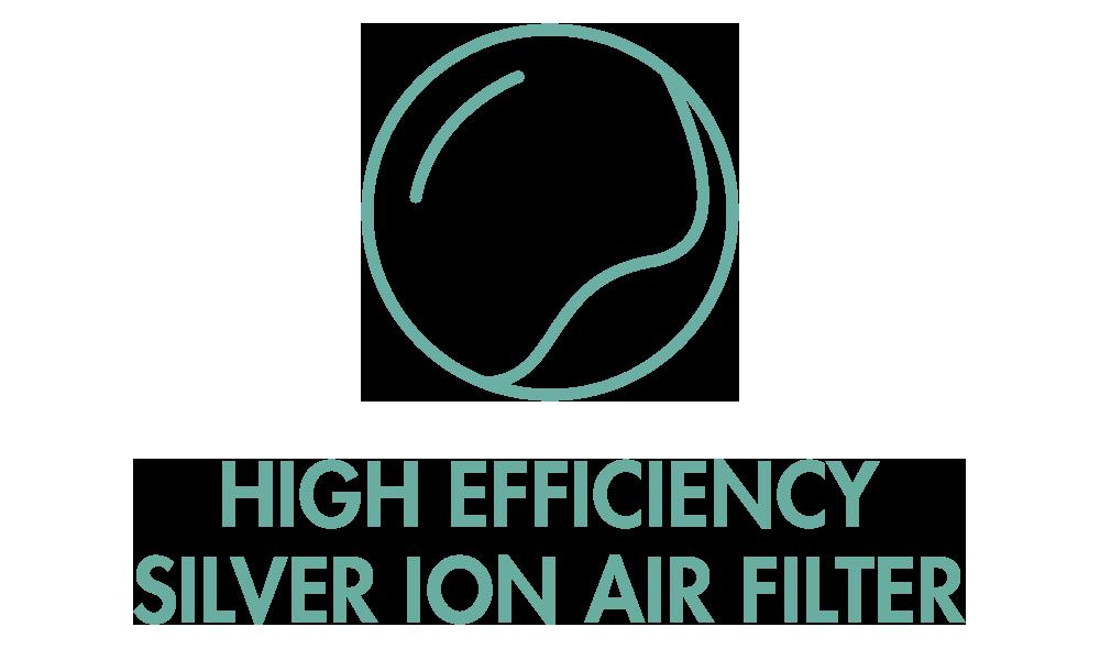 GASTROBACK® Air Purifier AG+ AirProtect - Silver Ion Air Filter