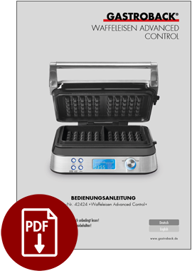 42424 - Waffeleisen Advanced Control - BDA