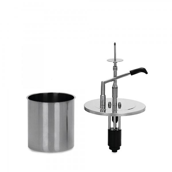 9.6 | CRS-DU-1-KB-4 | 1-teilig mit 4 Liter Behälter rostfrei