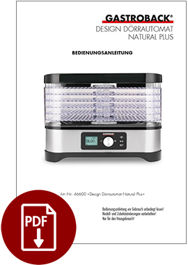 46600 - Design Dörrautomat Natural Plus - BDA