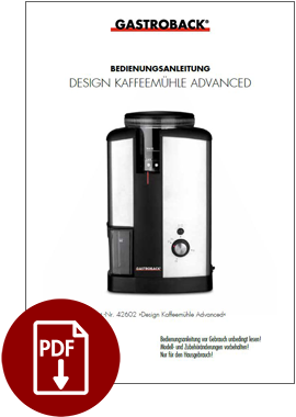 42602 - Design Kaffeemühle Advanced - BDA