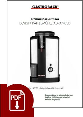 42602 - Design Coffee Grinder Advanced - IM