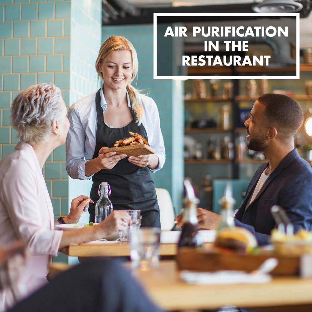 GASTROBACK® - Air purification in the restaurant