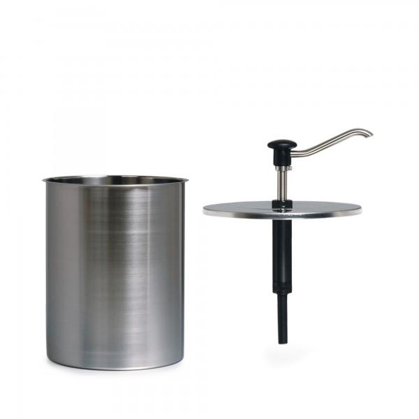 2.3 | CRS-EBK-6 | komplett mit zylindrischem Behälter aus Edelstahl (6 Liter)