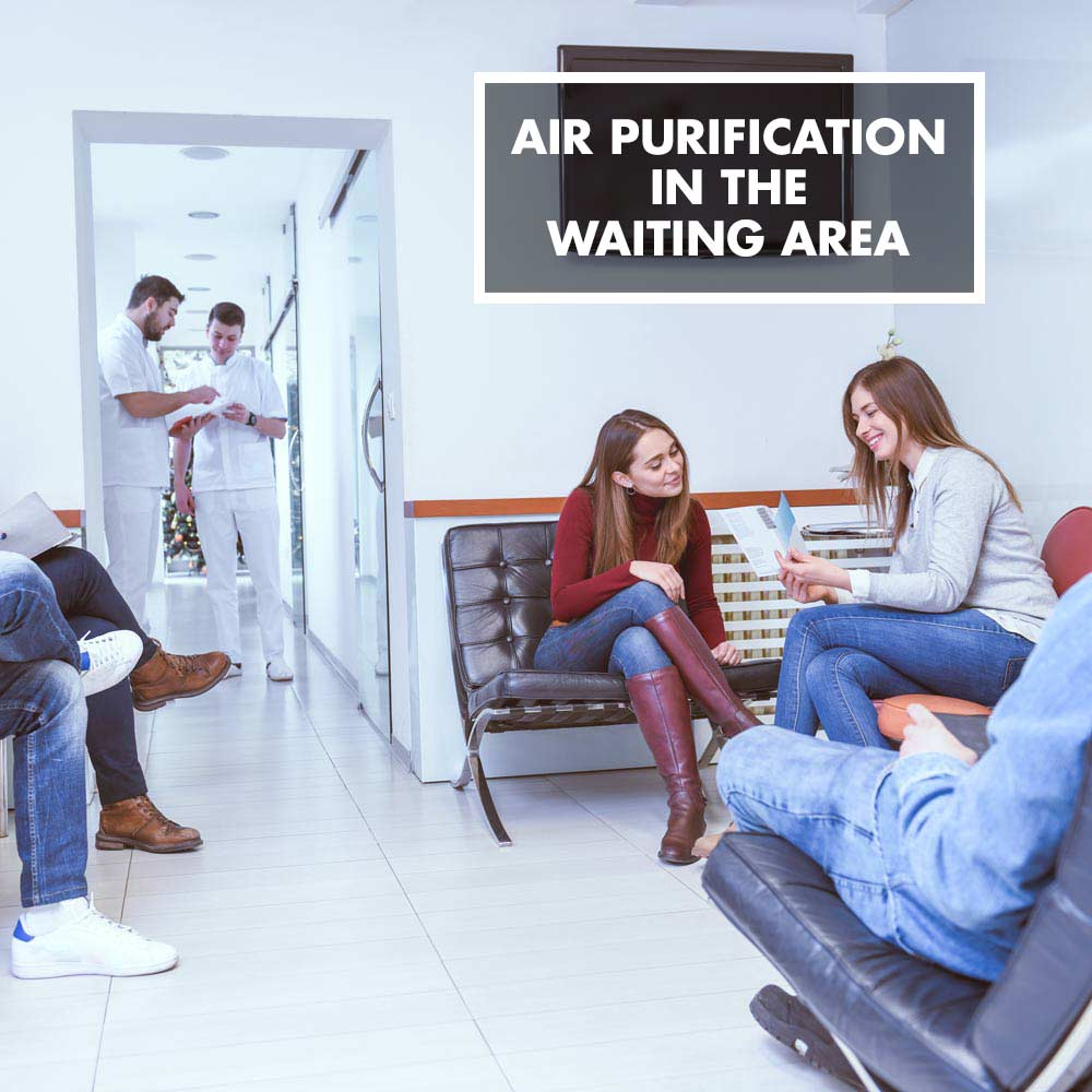 GASTROBACK® - Air purification in the waiting area