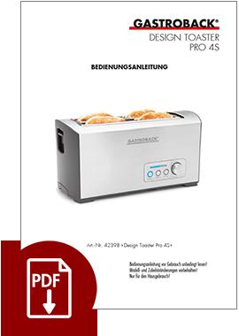 42398 - Design Toaster Pro 4S - BDA